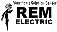 REM Electric Logo